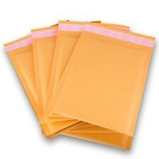PolycyberUSA  250 pcs #0 Kraft Bubble Envelopes Mailers 6.5 X 10 (Inner 6.5x9)