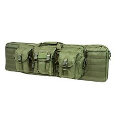 "NcStar Vism Tactical 42"" Padded Double Carbine Rifle Weapons Case Bag OD Green"