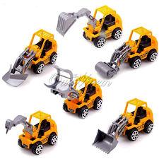 6pcs Truck Models Mini Toys Construction Trucks For Kids Children Play Gift Toys
