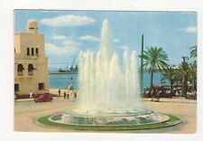 Alicante Plaza del Mar Fuente Luminosa Postcard Spain 557a