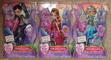 Ever After High Dragon Games Set of 3 Dolls Raven Queen Darling Charming Holl