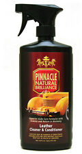 Pinnacle Leather Cleaner & Conditioner 16 oz.- car auto Easy 2-in-1 Process