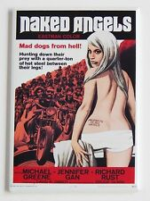Naked Angels FRIDGE MAGNET (2 x 3 inches) movie poster motorcycle woman