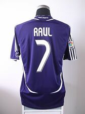 RAUL #7 Real Madrid Third Football Shirt Jersey 2006/07 (L)