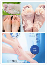 1 Pairs Callus Exfoliating Foot Mask Baby Skin Feel Remove Hard Dead Skin - UK