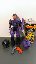Mantech Robot Warriors Action Figure lot w/ Comic book
