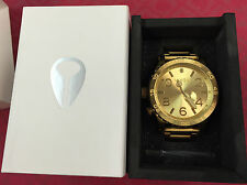 AUTHENTIC NIXON 51-30 TIDE ALL GOLD WATCH A057 502 A057502 NORDSTROM RP$500