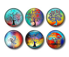 Tree of Life Refrigerator Magnets Set of 6pcs - collection #1