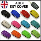 New Key Cover For AUDI Case Remote Fob Protector Shell Bag Hull Skin Cap Car 58