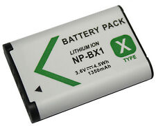 Battery For Sony NP-BX1 NPBX1 Cyber-shot DSC-RX100 RX1 HX50 HX300 WX300 Camera