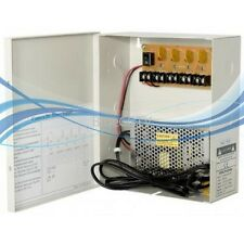 CCTV SECURITY CAMERA POWER Supply Distribution Box 12V DC 4ch 5 Amps PTC Fuse