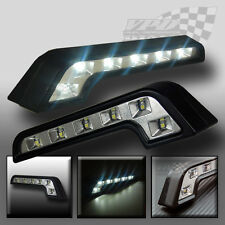 x2 DAYTIME RUNNING LIGHTS UNIVERSAL DRL LED WHITE LIGHT FORD
