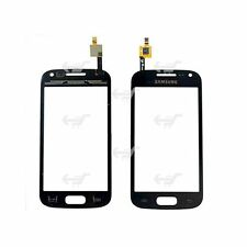TOUCH SCREEN VETRO PER SAMSUNG GALAXY ACE 2 GT I8160 NERO BIADESIVO DISPLAY LCD