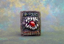 Bookcase Mimic Miniature Monster Dungeons and Dragons Pathfinder OOAK