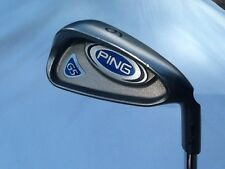 PING G5 GREEN DOT 6 IRON, CS LITE REGULAR FLEX, +1/2 INCH, USED, NOT A DEMO