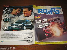 RIVISTA ROMBO 1990/16=RALLY SAFARI=CART F.INDY=FERRARI 315 S=BMW M3 SPORT EVOLUT