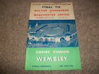 BOLTON WANDERERS v MANCHESTER UNITED   FA CUP FINAL  1958