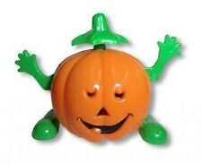Wind Up Toy Dancing Halloween Pumpkin Side Shuffle Waiving Hands NEW