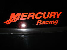 Mercury Racing Sticker DECAL RED Race Boat Outboard YOU GET 2!!