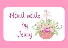 65 Pegatinas de Mini Personalizado, ramos de flores, Floristry, arreglos florales ML71