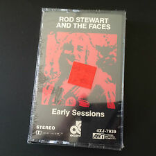 Rare Rod Stewart and The Faces Cassette Tape - Early Sessions - New & Sealed