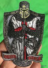 DEUS VULT TEMPLAR KNIGHTS patch CRUSADER tactical military MoralE CROSS SWORD