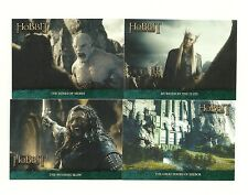 The Hobbit An Unexpected Journey The Lonely Mountain flashback 18 Card set P1-18