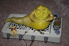 Star Wars-Vintage Jabba The Hutt Playset-flojo y completa-Kenner