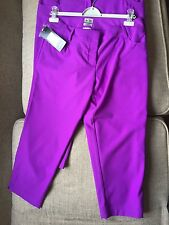 BNWT Ladies Adidas Clima Lite Trousers Golf Golfing (Size 10 & 12 available)