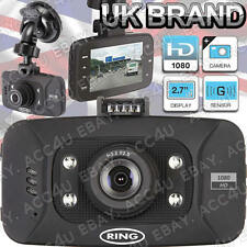 "Ring RBGDC50 In Auto 2.7"" Display HD 1080 Dash Cam Videocamera Video Viaggio"