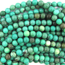 "6mm green chrysoprase round beads 15.5"" strand S1"