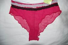 Red Frilled Front Shorts Valbonne Size  Large 14/16 BNWT