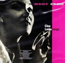 CLEO LAINE SINGS  - MEET CLEO (NEW SEALED CD)