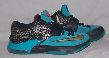 NIKE KD VII 7 N7 705135-486 Kevin Durant Size 10 Basketball Sneakers Multi-Color