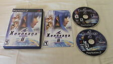 Xenosaga Episode Ii 2 Sony Playstation 2 PS2 Game Complete 2 Discs!