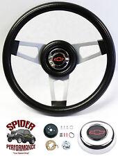 """1948-1959 Chevy pickup steering wheel BOWTIE 13 3/4"""" Grant steering wheel"""