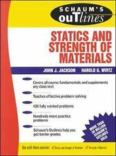 Schaum's Outline of Statics and Strength of Materials (Schaum's)-ExLibrary