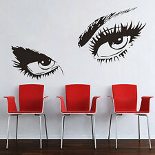 Removable Room Decor Audrey Hepburn Womens Eyes Wall Sticker Wall Decal FE