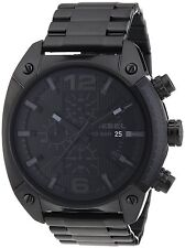 Diesel Advanced Blackout Chronograph Black Dial Date Mens Watch DZ4223 New Orig