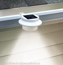 Set of 2 Solar LED Gutter Safety Lights