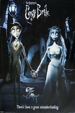 "CORPSE BRIDE POSTER ""THERE'S BEEN A GRAVE MISUNDERSTANDING"" TIM BURTON"