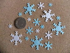 200 Edible Rice Paper Snowflakes for 'Elsa' 'Olaf' 'Frozen' cakes/cupcakes