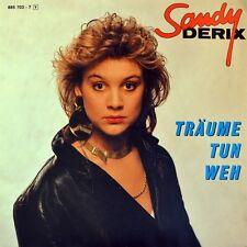 """7"""" SANDY DERIX Träume tun weh ESC Grand Prix Eurovision DVE JUPITER 1987 wie NEU"""