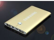 Samsung 50000mAh Dual USB Thin Power Bank Portable Battery Pack Charger, Gold