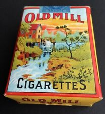 OLD MILL Cigarettes empty soft pack 1943 packet * series of 113 stamp T206 brand