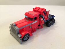 First Strike Optimus Prime TRANSFORMERS Movie 2007 Voyager Class truck cab power