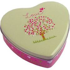 "Elite KÄSE® Love Heart Shaped Gift Tin Box Wedding Shower Party Favors-5"" Wide"