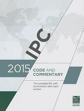2DAY SHIPPING   2015 International Plumbing Code Commentary (Includes, PAPERBACK