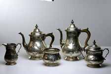 Antique  Gorham sterling silver 5 piece Tea and Coffee set