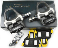 NEW 2017 Shimano ULTEGRA SPD SL Carbon Road Pedals & Floating Cleats: PD-6800